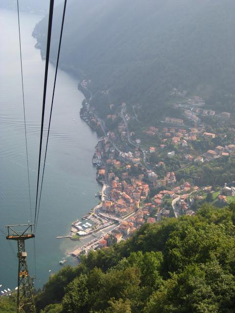 Atemberaubender Ausblick auf Argegno am Comer See