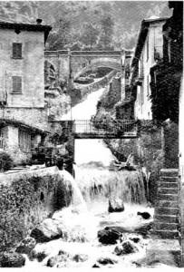 """Fiumelatte, the """"milk flow"""" on Lake Como"""