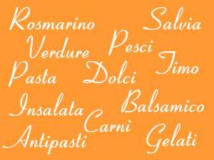 Italienische Küche am Comer See