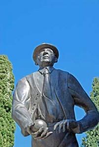 Denkmal in Cadenabbia am Comer See für den Urlauber und Ehrenbürger Konrad Adenauer