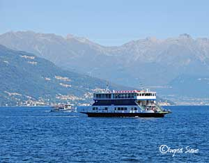 Traghetto on Lake Como