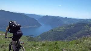 Mountainbiking Comer See