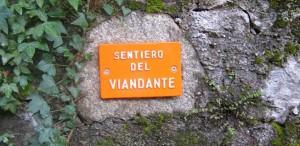 Sentiero del Viandante am Comer See