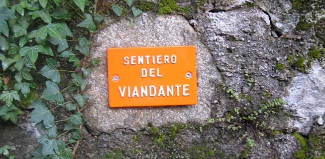 Sentiero del Viandante on Lake Como