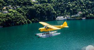 Nostalgic Waterplanes on Lake Como
