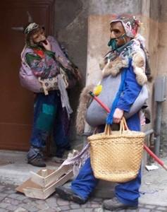 Karneval in Schignano, die Hässlichen (brutti)