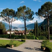 The fantastic view from Villa Vigoni on Lake Como