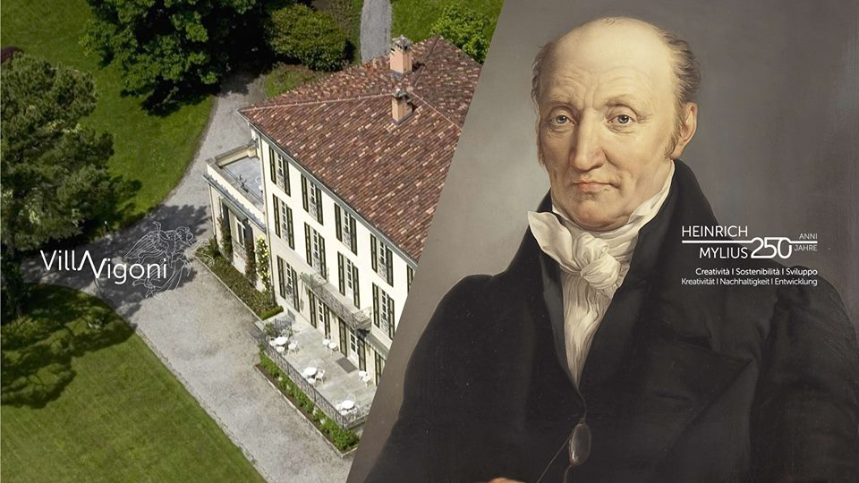 250 years of Henry Mylius and Villa Vigoni on Lake Como