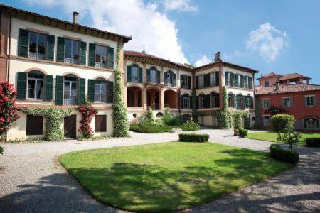 Villa Mylius Vigoni above Menaggio on Lake Como
