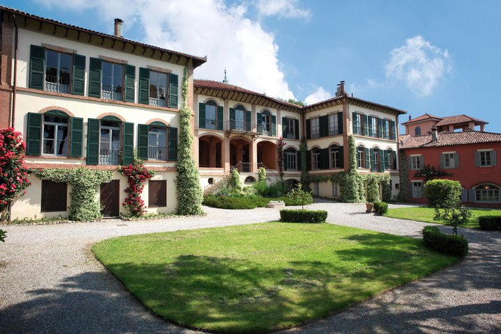Villa Mylius Vigoni above Menaggio on Lake Como