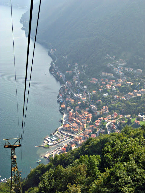 View on Argegno, Lake Como