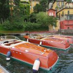 Rivas in the port of Varenna on Lake Como