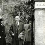 Konrad Adenauer am Comer See