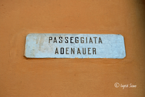 Passeggiata Adenauer in Griante am Comer See