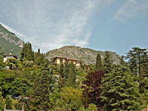 Villa La Collina oberhalb von Cadenabbia am Comer See