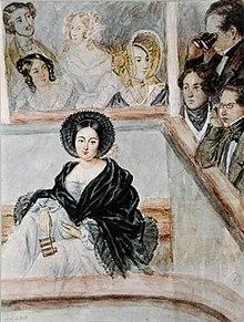 """Die Kurtisane Marie Duplessis, Vorbild für den Roman """"Die Kameliendame"""""""