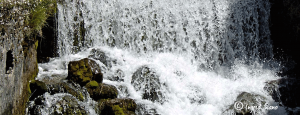 The foaming Fiumelatte on Lake Como