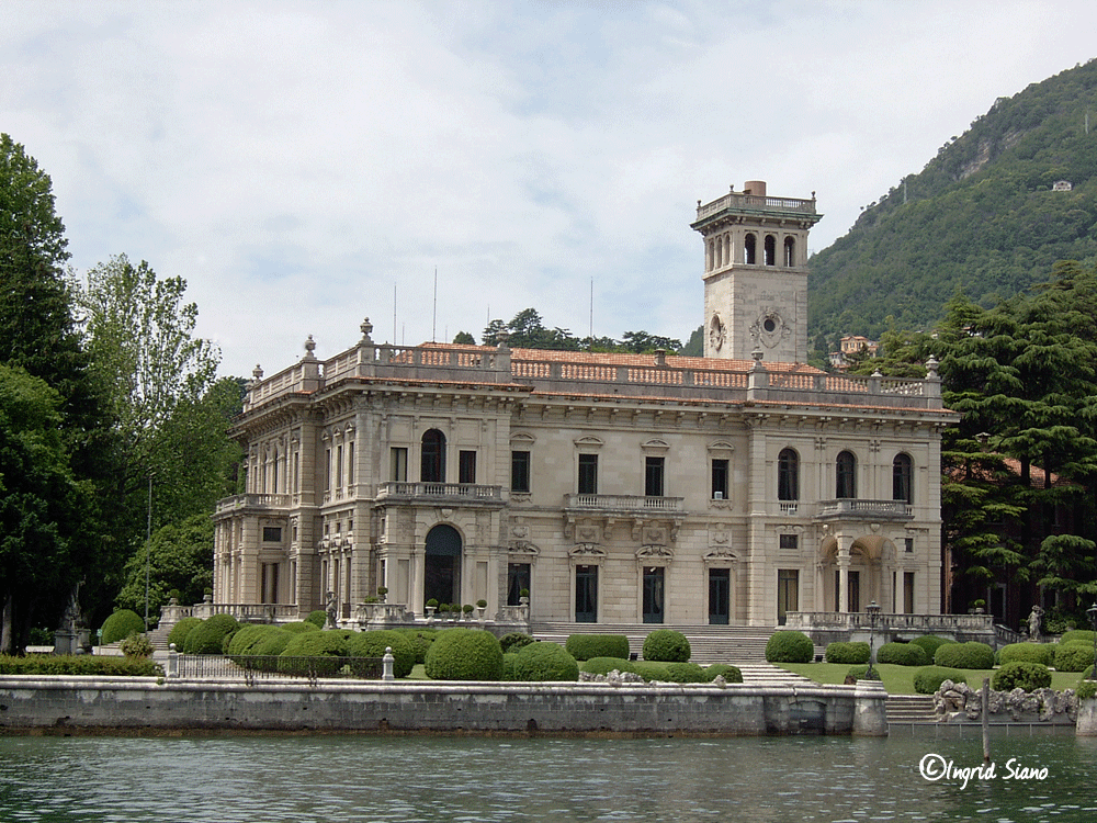 Villa Erba on Lake Como