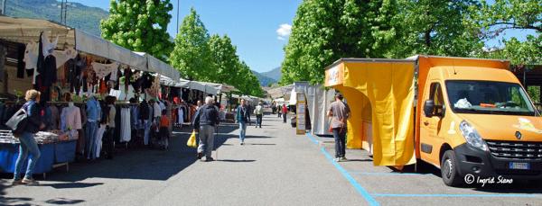 Wochenmarkt am Comer See