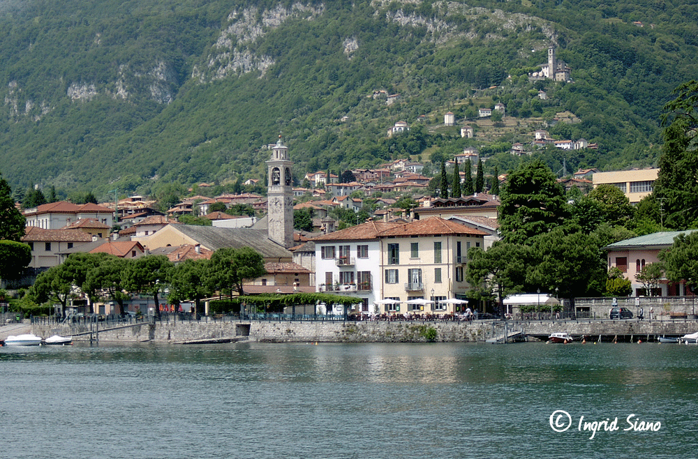 The picturesque village of Lenno on Lake Como