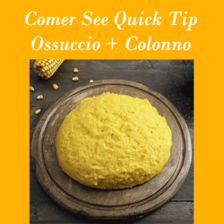 Quick-Tip Polenta on Lake Como