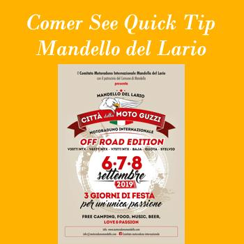 Moto Guzzi Treffen 2019 in Mandello del Lario am Comer See