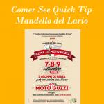 Comer See Quick Tip Moto Guzzi Festival in Mandello del Lario