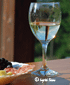 Chardonnay zum Snack am Comer See