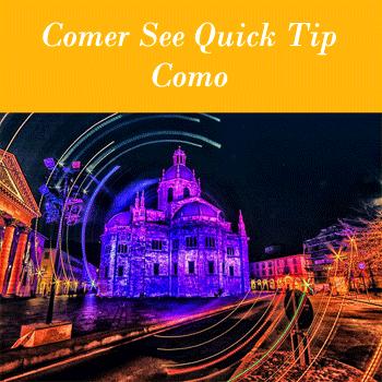 Lake Como Quick Tip Christmas Season 2018 in Como
