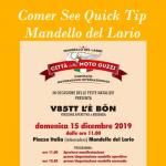 Christmas event Moto Guzzi 2019 in Mandello del Lario on Lake Como