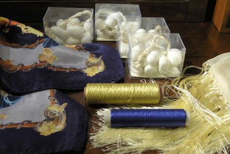 Silk Production on Lake Como