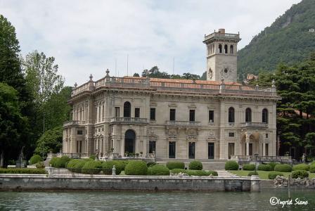 Villa Erba am Comer See