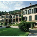 Villa Mylius Vigoni oberhalb von Menaggio am Comer See