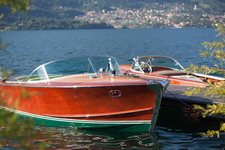 Riva Boote aus den 60iger Jahren am Comer See