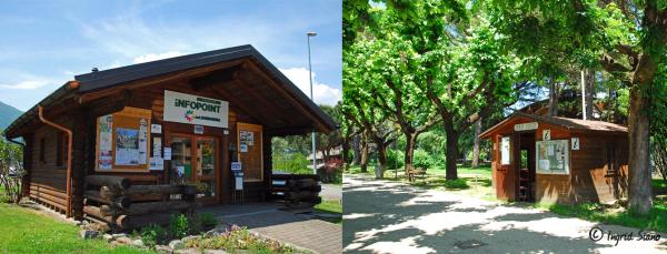 Touristenbüros rund um den Comer See