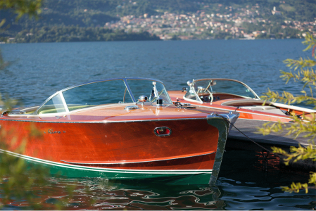 Riva-Boote-60iger-am-Comer-See