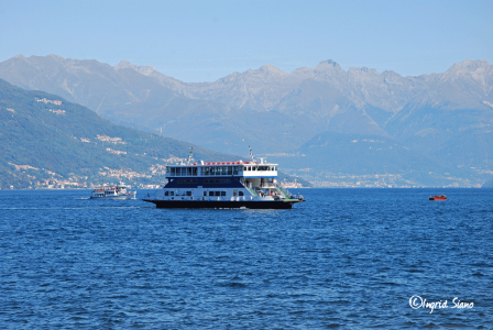 Traghetto from Cadenabbia to Bellagio on Lake Como