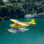 Nostalgic Waterplanes above Lake Como
