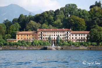 Hotel Grand Bretagne in Bellagio on Lake Como under construction!