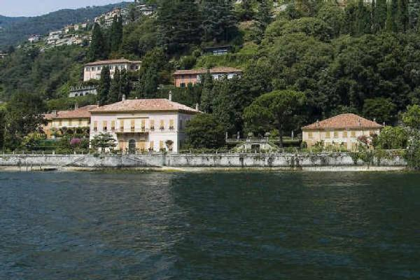 Villa Pizzo am Comer See zwischen Cernobbio + Moltrasio
