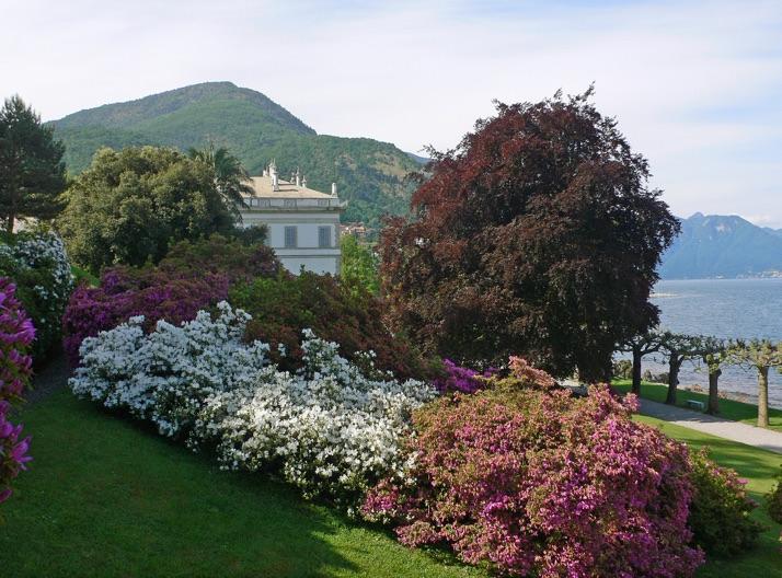 Die Villa Melzi mit ihrem prächtigen Garten in Bellagio am Comer See