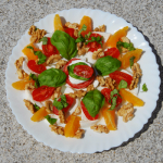 Mozzarella Tomaten Variante am Comer See