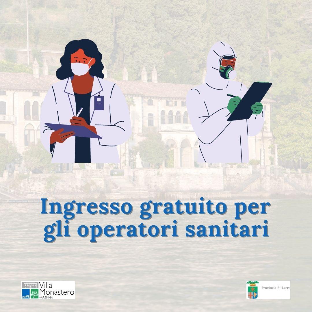 Danke Aktion: Freier Eintritt für medizinisches Fachpersonal in die Villa Monastero am Comer See