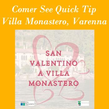 Comer See Quick-Tip in der Villa-Monastero in Varenna