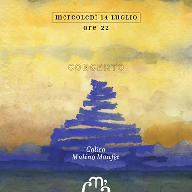 Molino Maufet, Konzert, im Rahmen des Festivals Musica sull'Aqua, in Villatico am Comer See