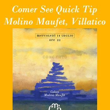 Comer See Quick-Tip Konzert Molino-Maufet in Villatico