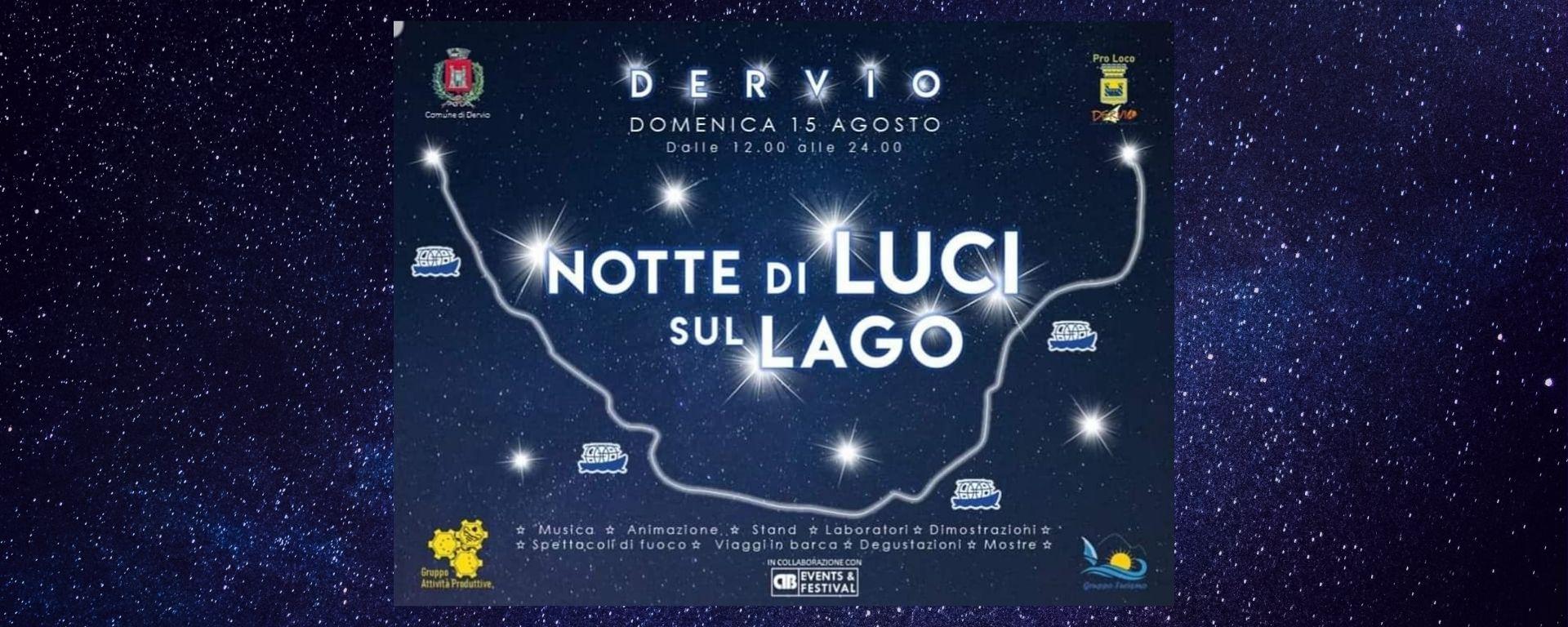 Die Nacht der Lichter in Dervio am Comer See 2021